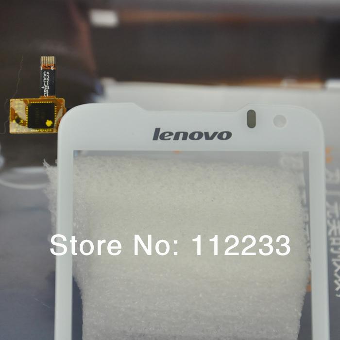 Сенсорный экран для lenovo p700 дигитайзер переднее стекло белого цвета