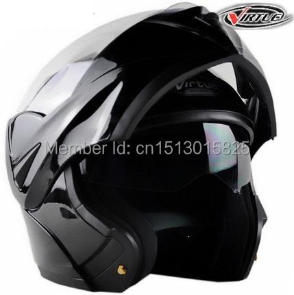 2015 New Arrivals Best Sales Safe Motorcycle Helmets Flip up helmet with inner Sun Visor double lens Warm antifog size M.L.XL(China (Mainland))