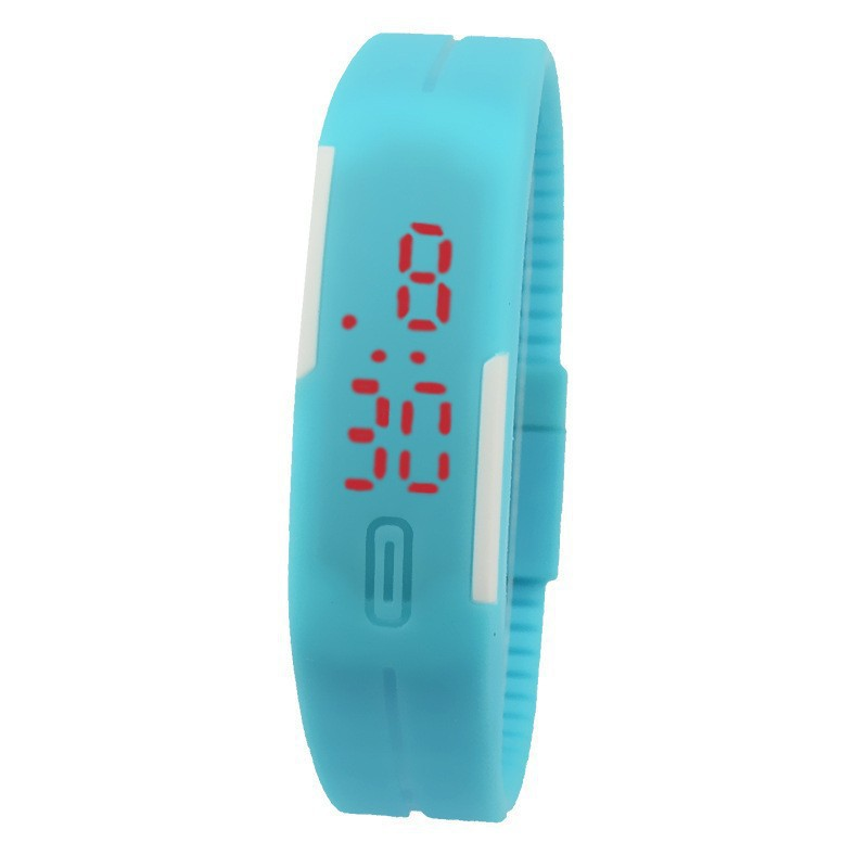 Fashion Unisex Sport LED Watches Women Candy Color Silicone Rubber Touch Screen Digital Watch Men Waterproof Bracelet Wristwatch(China (Mainland))
