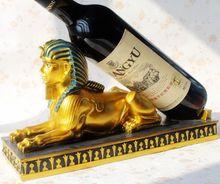 Смола ремесла европейский египетский фараон лев тела и стильный домашнего декора винный шкаф винный шкаф скидки 33
