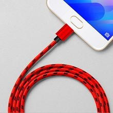 Buy Micro Usb Nylon Braid Charging Cable Data Sync Charge Wire Fast Line Samsung Xiaomi Cell Phone Charger Cable 1m 1.5m 2m for $2.99 in AliExpress store