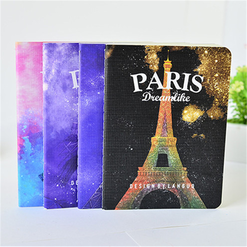 A6 DIY Creative Vintage Retro Eiffel Tower Notebook With Blank Paper Novelty Item Kids Gift Korean Stationery Free Shipping 2003<br><br>Aliexpress