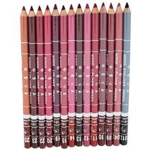 2015 New Magic Brand New Women's Professional Lipliner Waterproof Lip Liner Pencil Makeup 15CM(China (Mainland))