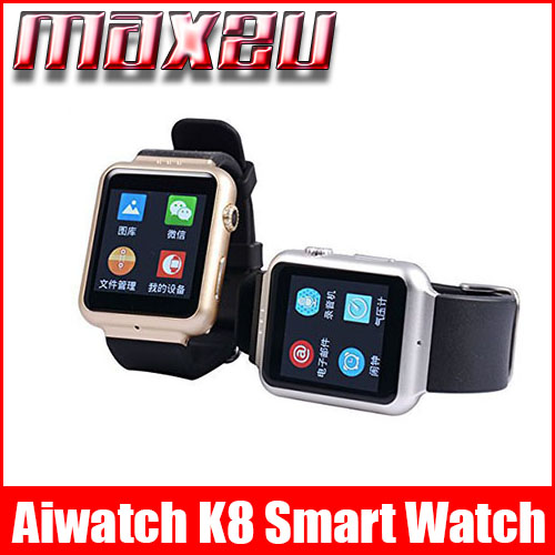 Aiwatch K8 Waterproof Best GPS Bluetooth WIFI Simcard Supported Smart Watch for iOS Android Phone(China (Mainland))