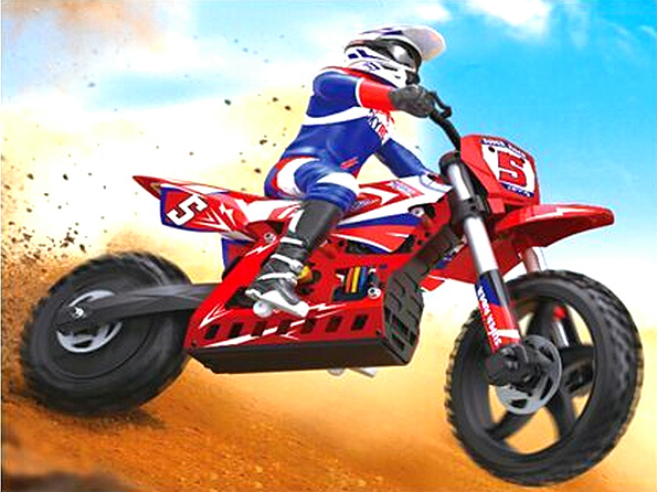 SKYRC SUPER RIDER SR5 Electric Motocross Riders RC bike without battery and charger RTR version