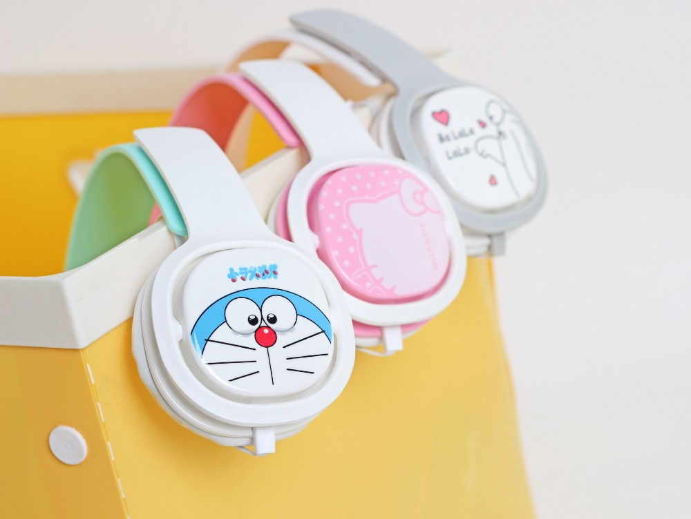 2016 Doraemon font b Headphone b font with Mic for Iphone 5 5s 6 6plus cute