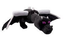 60cm Big Size Minecraft Ender Dragon Plush Doll Soft Black Minecraft Enderdragon PP Cotton Minecraft Dragon Toys A10(China (Mainland))