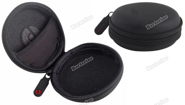 microtrade Bottom price! Earphone Headphone Carrying Hard Hold Case Storage Bag new fashion style(China (Mainland))