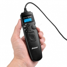 Shoot Shutter Release Self -Timer Remote Shutter Cable for 5D 6D 7D Support Self-timer Interval Timer Long-exposure Timer R8B9(China (Mainland))