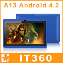 Cheapest 7 inch Android 4.2 Q88 Allwinner A13 Tablet PC 1.2GHz 4GB Capacitive Screen Webcam