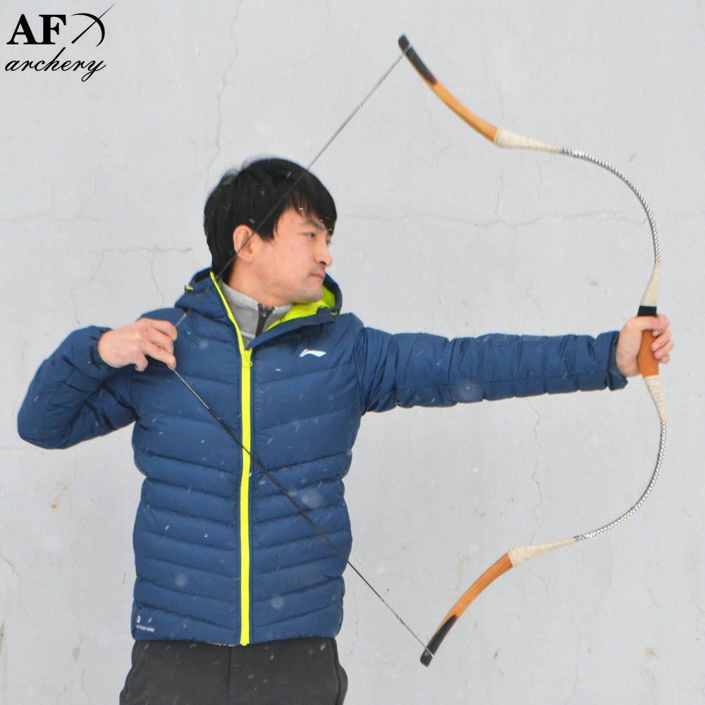 Recurve Bow Archery Snakeskin Traditional Bow and Arrow Sport for Hunting Han Glassfiber Longbow Sales 138cm