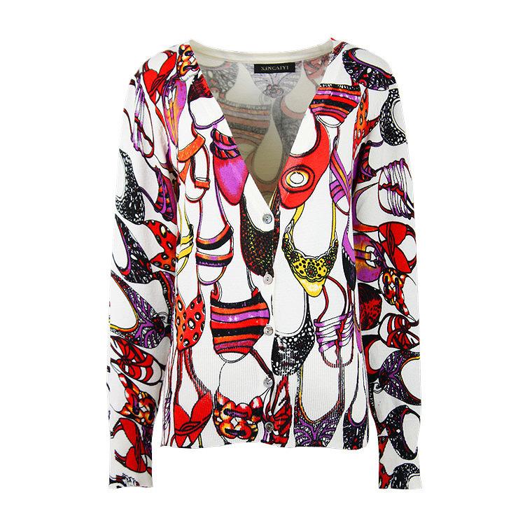 Женский кардиган Cardigan 2015 V sweaters