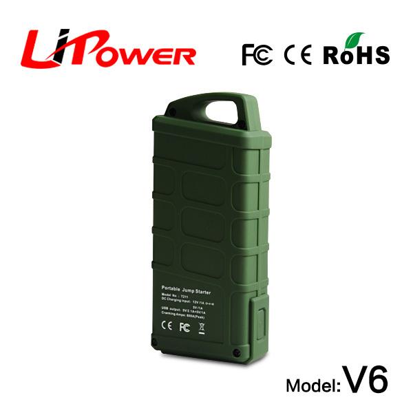 easy start 14000mAh lithium ion battery jump start battery booster led indicator(China (Mainland))