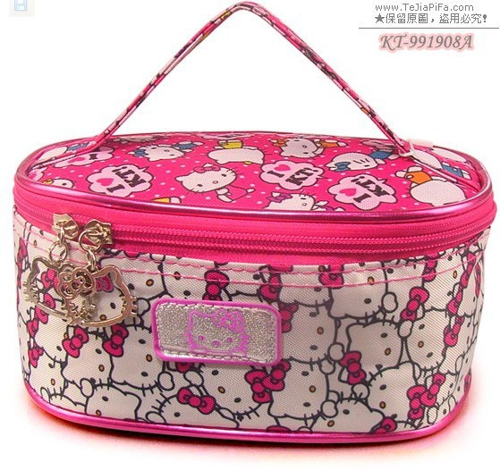 2013 Best Selling ! NEW arrival Hello Kitty handbag HelloKitty bag cartoon conveniently bag wholesale,991908 hot sale(China (Mainland))