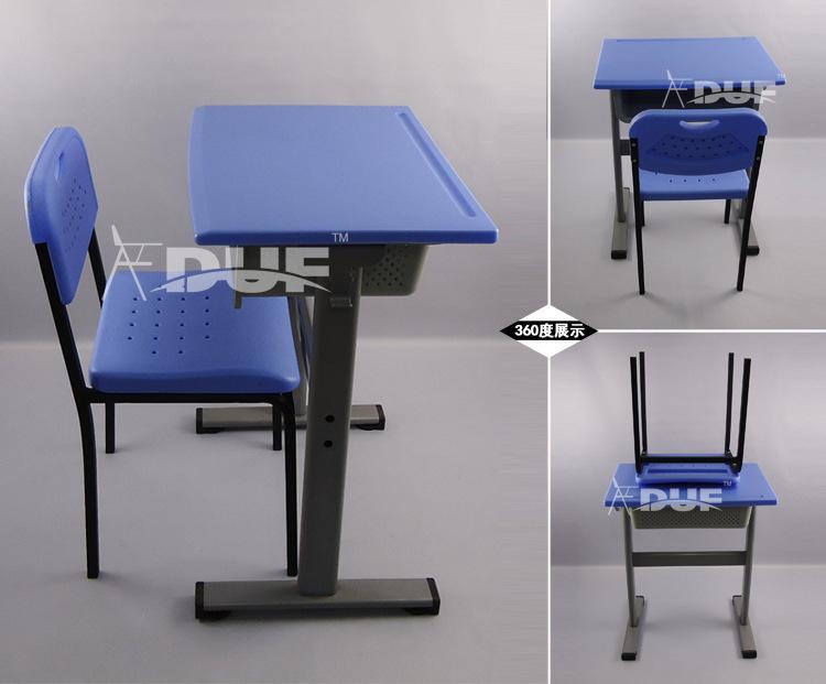 Monoplace bureau et une chaise stable mobilier scolaire for Mobilier bureau etudiant