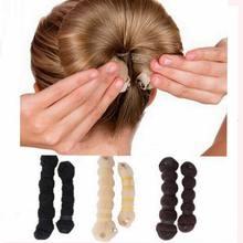 2Pcs/set Hot Fashion Hair Tools Elegant Magic Style Buns Headwear Hair Rope Hair Accessories(China (Mainland))