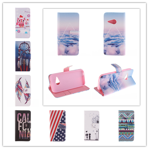 Animation Style Wallet Flip PU Leather Case Magnetic Card Holder Smart Stand Skin Bags Cover LG L40 D160 D170 - APbest Electronic Store store