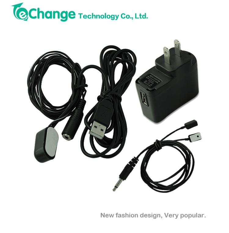Infrared IR Remote Control Repeater Extender 2 Emitter 1 Receiver + USB Adapter EG5718(China (Mainland))