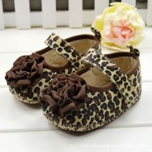 Infant Girls Shoes Soft Bottom Shoes Polka Dot Flower Toddler Shoes Baby Shoes(China (Mainland))