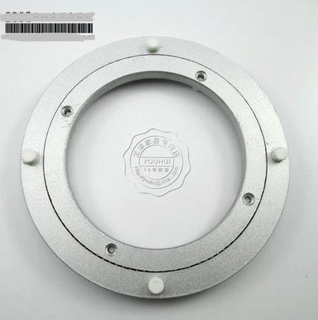 Aluminum Bearing Table Turntable Swivel Plated Glass Universal Turntable Base 12 inch / 300mm(China (Mainland))