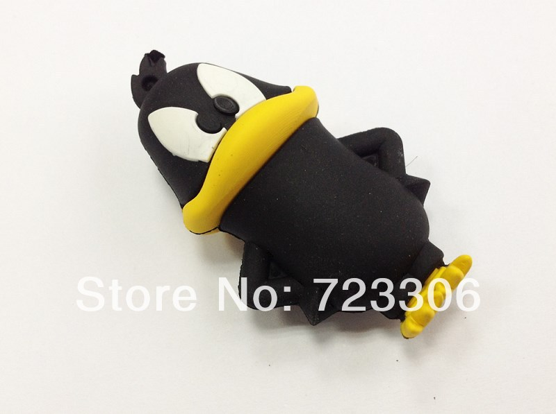 Free shipping new stock price cartoon usb flash drive cute Crow pen drive 1GB 2GB 4GB 8GB 16GB 32GB 64GB(China (Mainland))