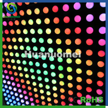Diamieter 26mm RGB 5050 smd pixel led module back lights for wall animation display ip67(China (Mainland))