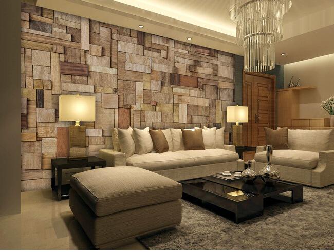 ... bedroom TV ... Wood Wallpaper Bedroom