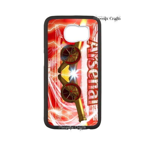 favorable retailer supply pele capa America man utd Arsenal rubber phone case for Samsung Galaxy S6 Order(China (Mainland))