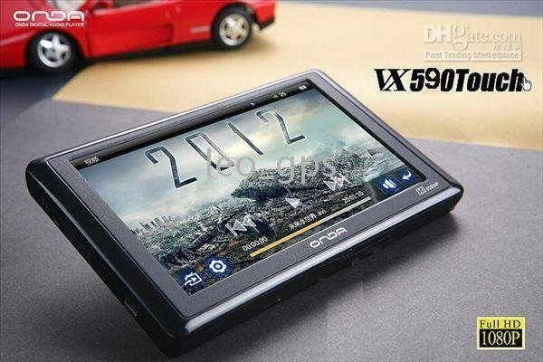 Functions - 8GB Newest Onda VX590 full HD 1080P 6 inch touch Screen MP5 Player with TV-out and OTG(China (Mainland))