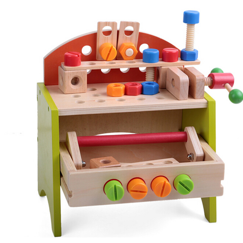 Free Shipping 2016 Hot Multifunctional Toys Tool Set for Boys Children,Novelty Wood Toy Tools Childrens Educational Toys<br><br>Aliexpress