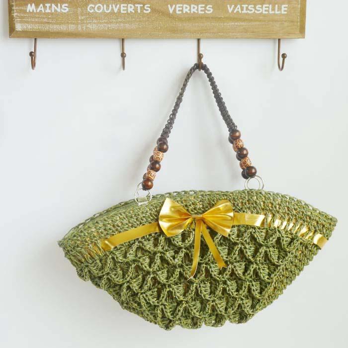 Wholesale manufacturers of 2013 summer new Lace Crochet Straw Bag Shoulder Bag Handbag knitted Korean beach bag(China (Mainland))