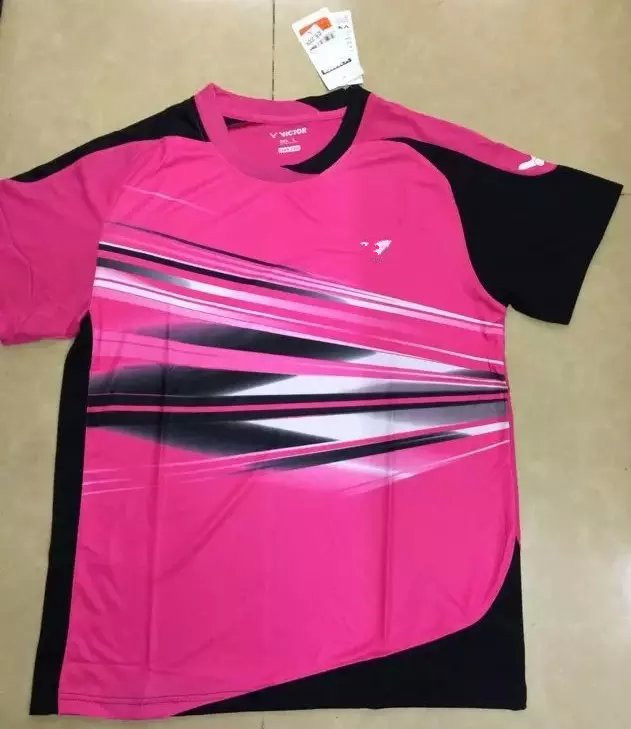 Top Quality Badminton Jersey Victo-r T-Shirts Men and Women Shirts and Shorts Ladies Sports Athletic Tennis Gym Tenis Shirts 282(China (Mainland))
