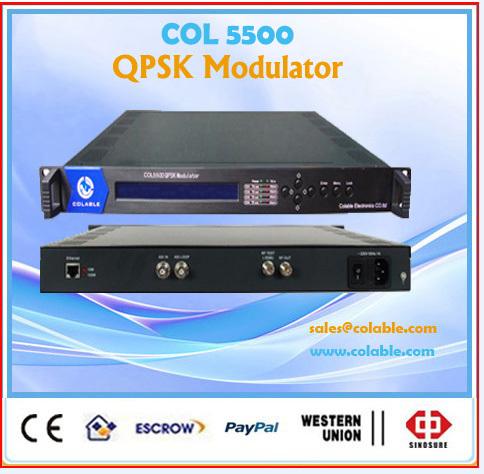 QPSK Modulator for mmds system COL5500(China (Mainland))