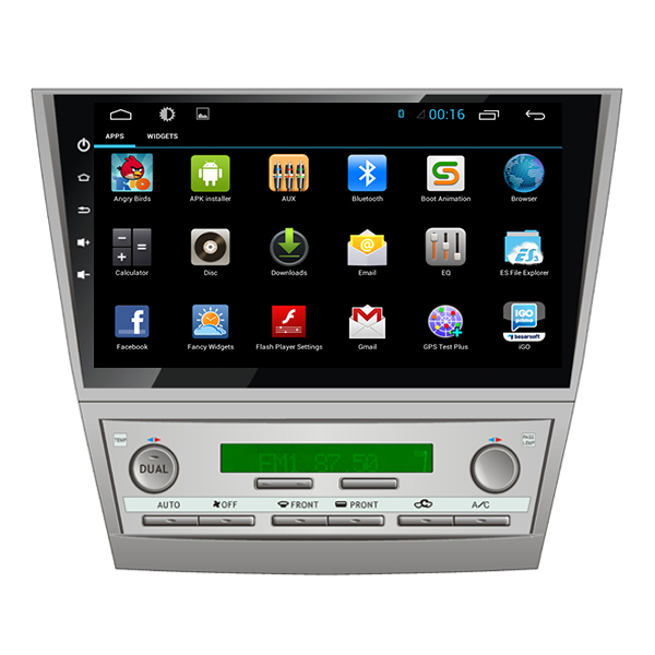 """HD 1024*600 10.2"""" Android 4.4 CAR DVD GPS FOR TOYOTA CAMRY 2007 2008 2009 2010 2011 NAVIGATION RADIO STEREO HEAD UNIT BLUETOOTH(China (Mainland))"""