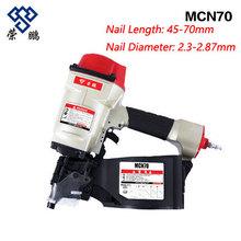 Rongpeng CN70 Pneumatic Coil Nail Gun Capacity 225-300pcs Coil Nailer Air Nailer use 8*5mm Pipe