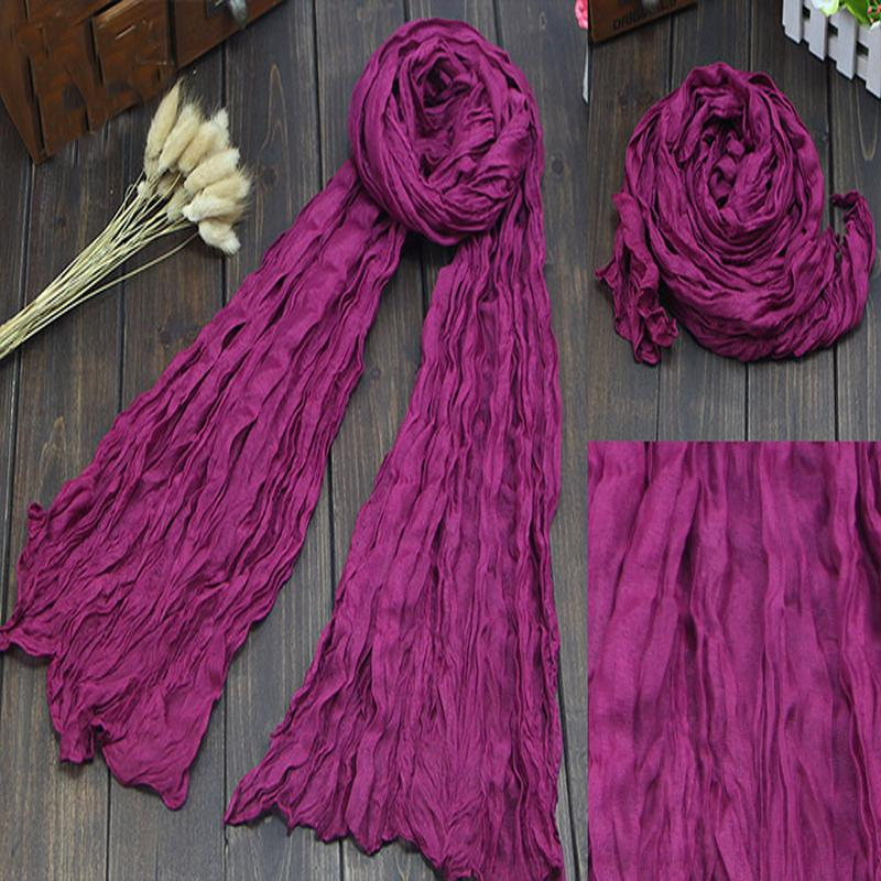 2015 New Brand Desigual Silk Scarves Solid Candy Color Elegant Women Soft Wrap Shawl Long Stole