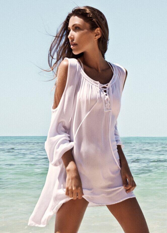 Cheap plain white summer dresses