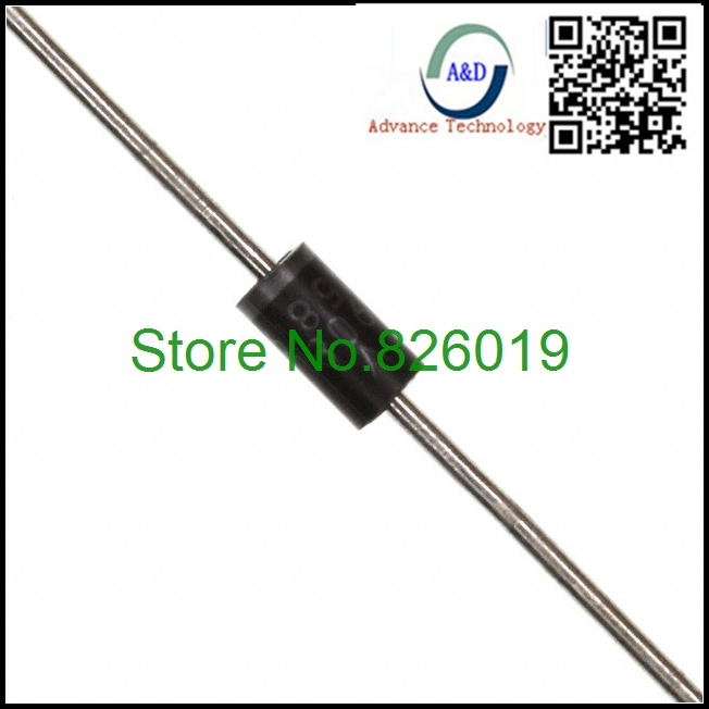 100pcs/lot original 1N5817 DIODE SCHOTTKY 20V 1A DO41 Diodes Rectifiers Single(China (Mainland))