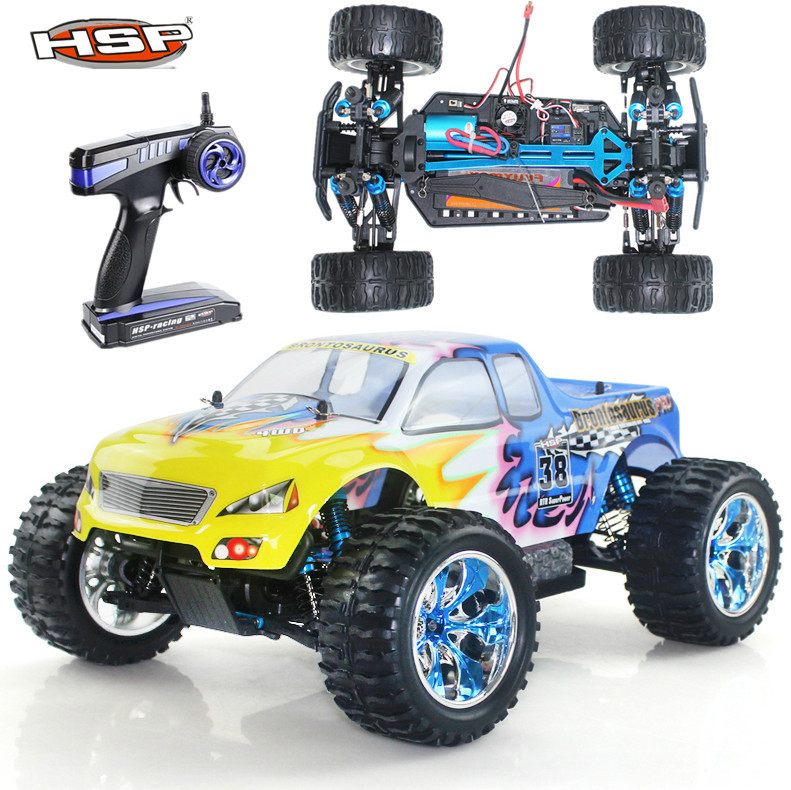 HSP Rc Car 1/10 Scale Model Off Road Monster Truck 94111PRO Brushless Electric Car High Speed Hobby 4wd Remote Control Car 4x4(China (Mainland))