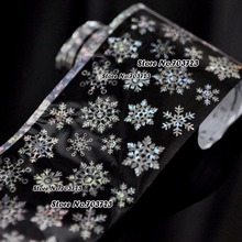 Harajuku fashion sexy new Star Bright Nail Nail Stickers can be transferred Beautiful snowflake SY615
