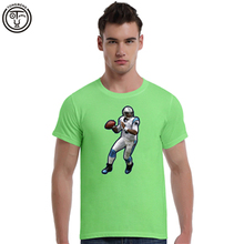 Top Quality Tee Shirt Cam Newton Wallpaper Rugby Summer Men's Cotton Short Sleeve T-shirt Fashion O-neck Casual 3D print(China (Mainland))