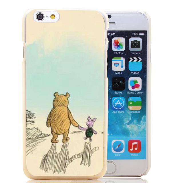 Etui iPhone 4/4S/5/5S/SE/5C/6/6S/6Plus/6SPlus Winnie The Pooh