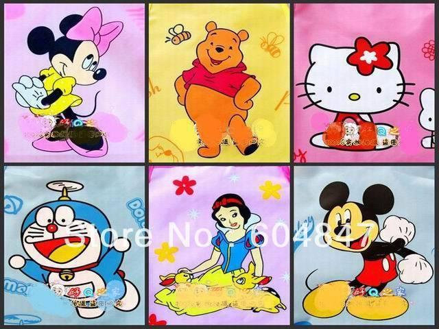 Wholesale 10pcs/lot  Cartoon Children Kitchen Apron kids Waterproof Apron