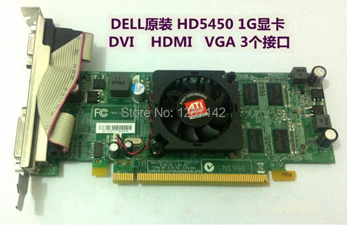 Original For DEL GT5450 1GB DRR5 Graphic Cards GPU VGA Video Card DVI+VGA+HDMI Replacement<br><br>Aliexpress