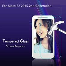 Moto E2 2015 2nd Gen Tempered Glass Screen Protector Film Protective 9H 2.5D retail box - Shen Zhen Helix Trading Co., Ltd store