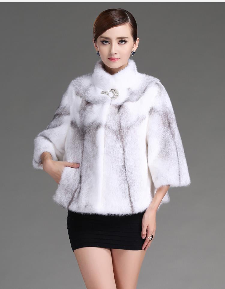 Corto Invierno Faux Fur Coat Invierno de Alta Copia de Piel de Visón Tapa Abrigo Casacos Femininos Manteau Femme(China (Mainland))