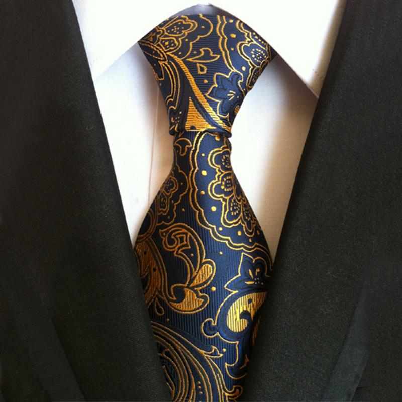 2016 Trendy Men's Polyester Men Tie Necktie Floral Gravata for Mens Business Vestidos Men Ties Bridegroom Paisley Men Neck Ties(China (Mainland))