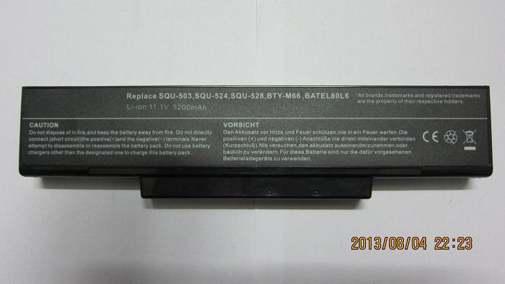 rechargeable laptop battery forCalifornia Access M158N,Chem USA ChemBook 4030,4031,4080,4081 SQU-528,SQU-524(China (Mainland))