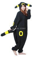 Pokemon Character Umbreon Cosplay Costume For Halloween Carnival Party Christmas Adult Onesie Jumpsuit
