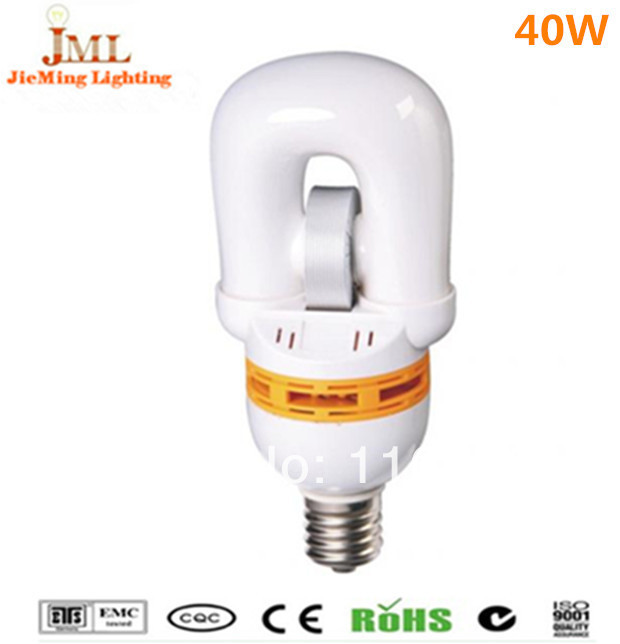 free shipping 40w 3200lm bulb lights E40/E27 induction light/lamp compact light 2700k~6500k indoor series CE/ROHS/CCC 60000hrs(China (Mainland))